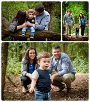Outdoor natural light family photographer
