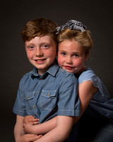 Siblings brother & sister child portrait photographer