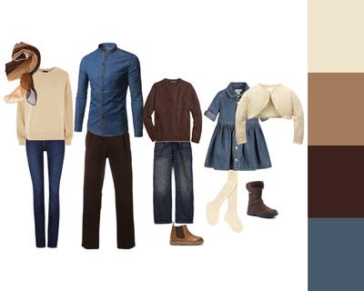 clothing - denim & neutrals