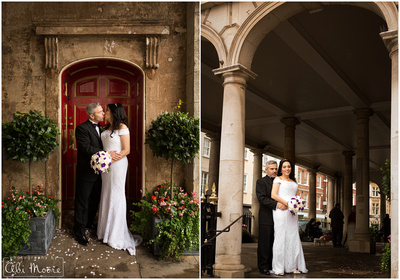 Windsor Guildhall wedding photography 05 - on a rainy day