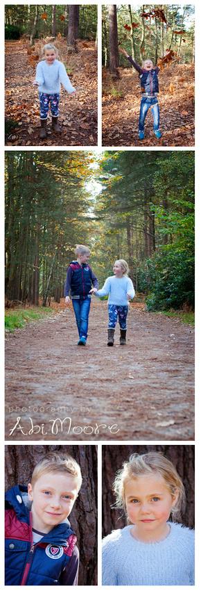 family photoshoot Windsor Swinley Forest