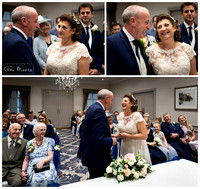 Winter wedding photography Windsor Castle Hotel 02