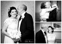 Winter wedding photography Windsor Castle Hotel 05