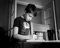 Windsor photographer - working from home with my family, homeschooling my kids
