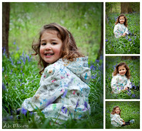 Bluebell photoshoot Berkshire