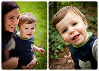 Outdoor natural light family photography 5